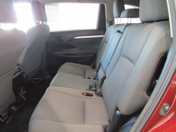 2017 Toyota Kluger GX GSU55R Four Wheel Drive Red