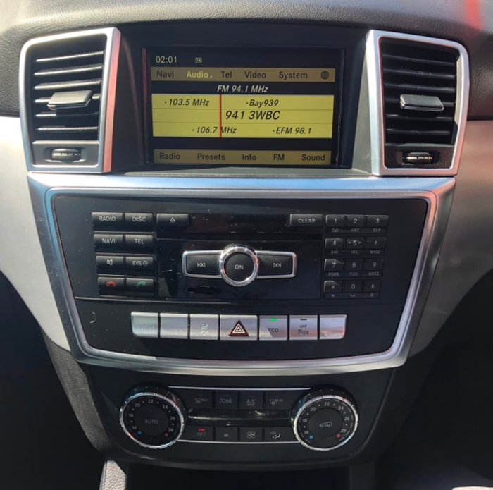 2012 Mercedes-Benz ML250 BlueTEC W166 4X4 Constant Grey