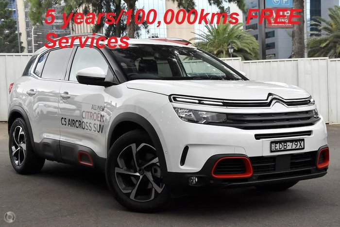 2019 Citroen C5 Aircross Feel C84 MY19 White