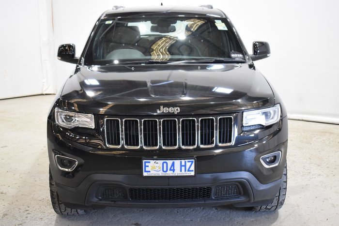 2015 Jeep Grand Cherokee Laredo WK MY15 4X4 Dual Range Black