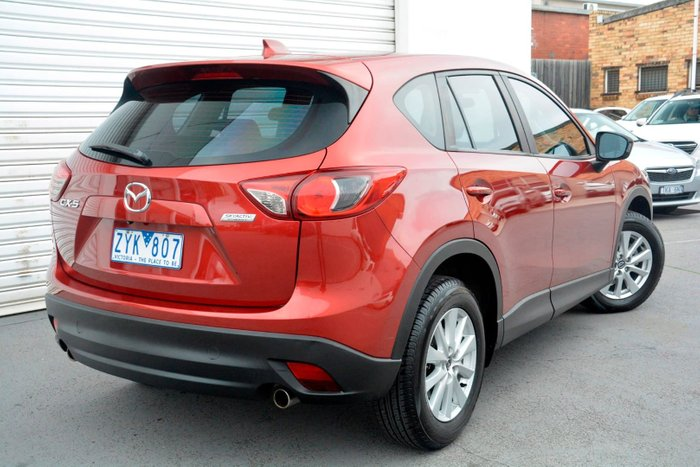 2012 Mazda CX-5 Maxx Sport KE Series Red