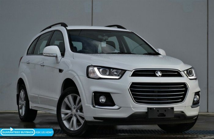 2016 Holden Captiva LT CG MY16 4X4 On Demand SUMMIT WHITE