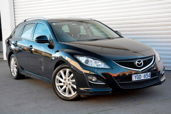 2011 Mazda 6 Touring GH Series 2 MY10 Black