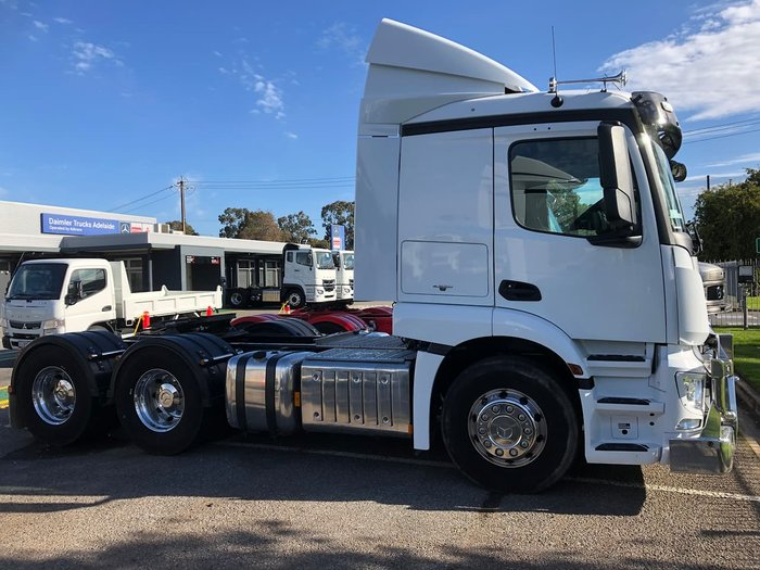 2018 MERCEDES-BENZ 2646 ACTROS DEMONSTRATOR null null White