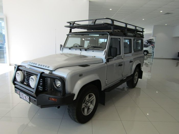 2013 Land Rover Defender 110 MY13 4X4 Constant Indus Silver