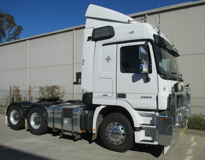 2012 Mercedes Benz 2660 Actros WHITE