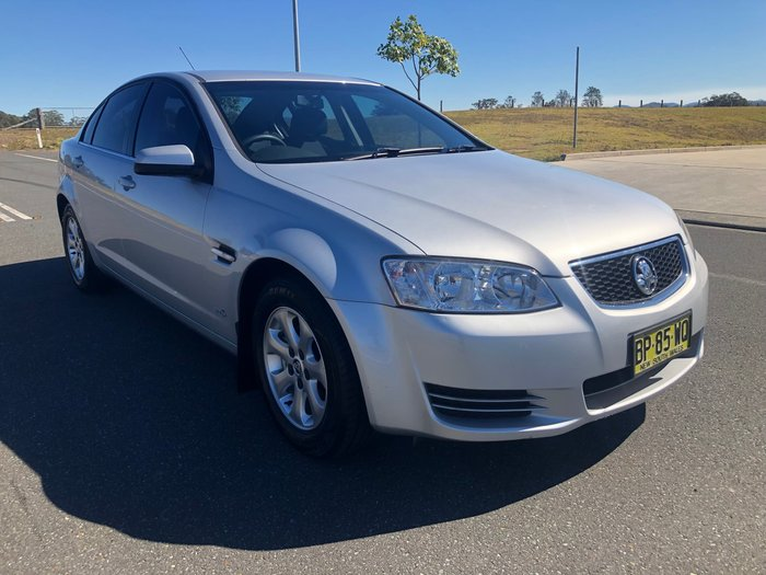 2012 Holden Commodore Omega VE Series II MY12 Silver