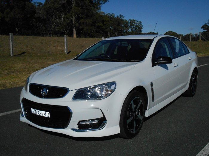 2017 Holden Commodore SV6 VF Series II MY17 White