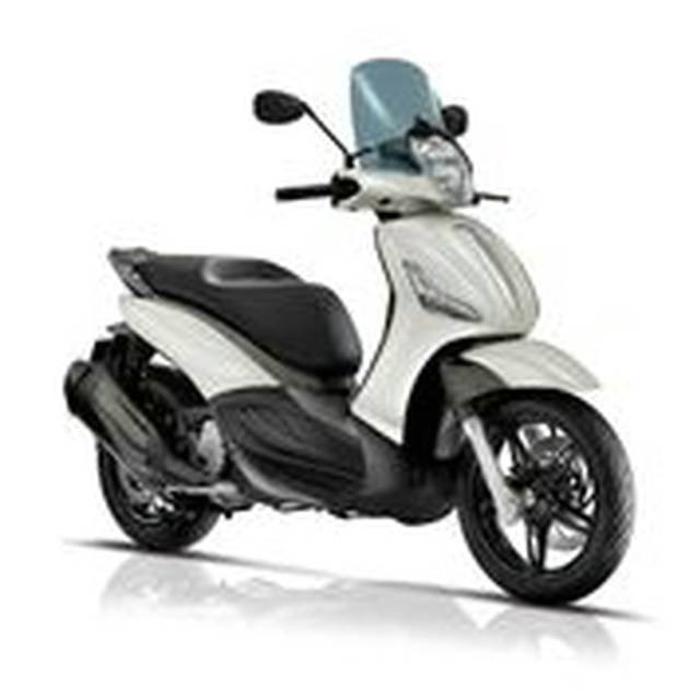 2018 PIAGGIO BEVERLY 350 (BV 350) SCOOTER WHITE