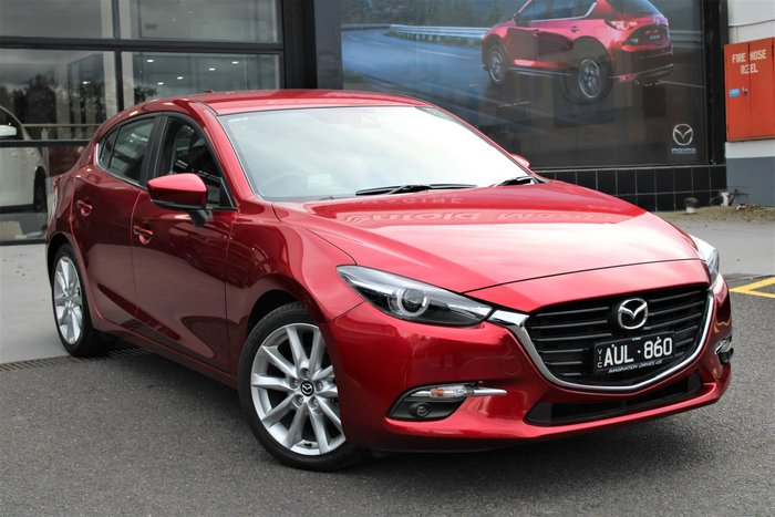 2018 Mazda 3 SP25 GT BN Series Red