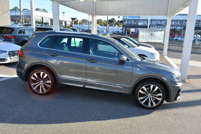 2017 Volkswagen Tiguan 140TDI Highline 5N MY18 Four Wheel Drive Grey
