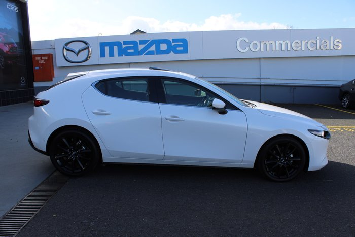 2019 Mazda 3 G25 Astina BP Series White