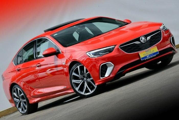 2017 Holden Commodore VXR ZB MY18 4X4 On Demand Red