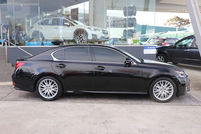 2012 Lexus GS450h Sports Luxury GWL10R Black