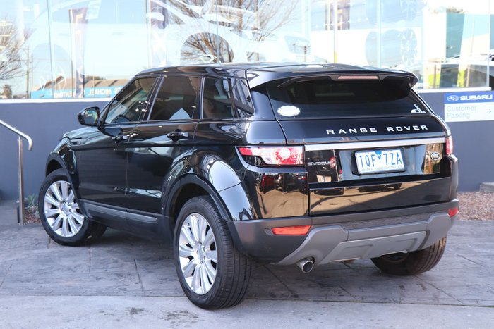 2014 Land Rover Range Rover Evoque SD4 Pure L538 MY14 4X4 Constant Black