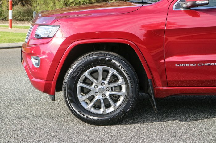 2013 Jeep Grand Cherokee Overland WK MY14 4X4 Constant Red