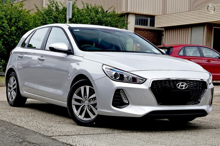 2019 Hyundai i30 Active PD2 MY19 Silver