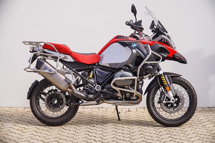 2016 BMW R 1200 GS ADVENTURE null null Red