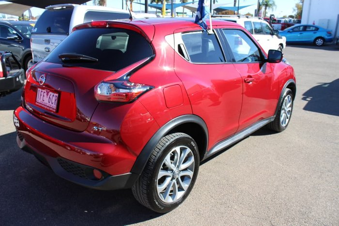 2015 Nissan JUKE ST F15 Series 2 Red