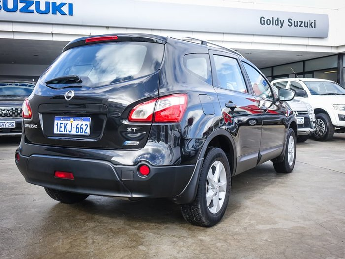 2012 Nissan Dualis +2 ST J10 Series 3 MY12 Black