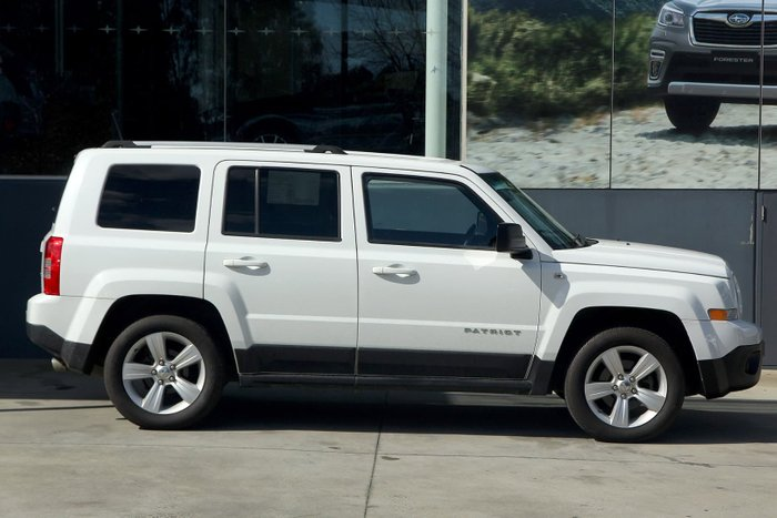 2014 Jeep Patriot Limited MK MY14 4X4 On Demand White