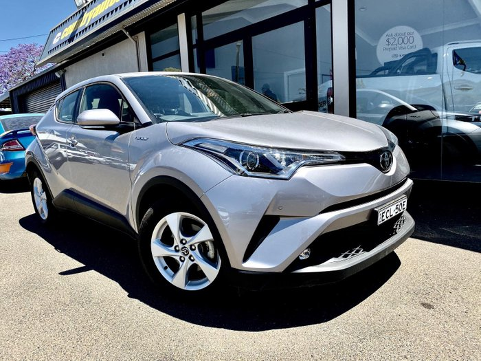 2018 Toyota C-HR NGX10R Chrome