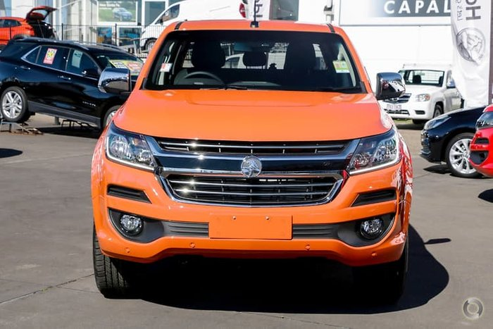 2019 Holden Colorado LTZ RG MY19 4X4 Dual Range Orange