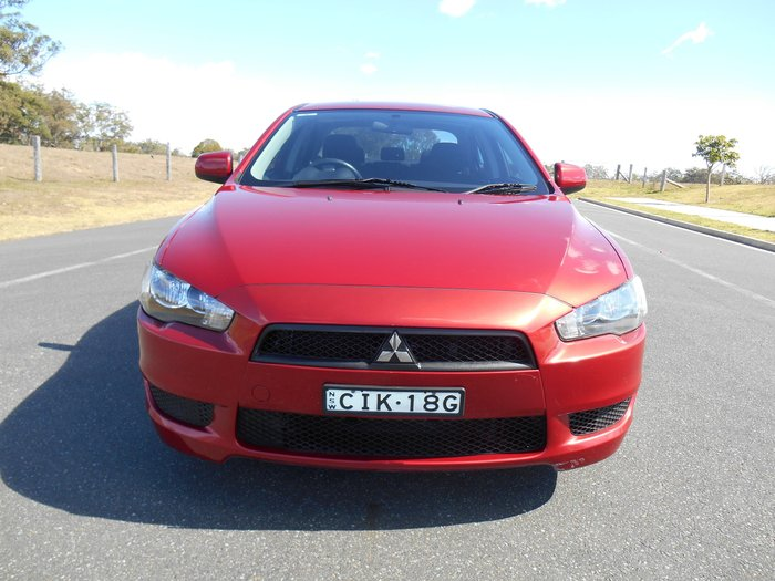 2012 Mitsubishi Lancer ES CJ MY12 Red