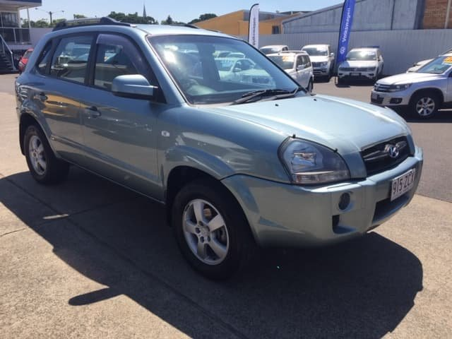 2007 Hyundai Tucson City JM Green