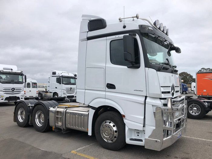 2019 MERCEDES-BENZ 2019 ACTROS 2658 DEMONSTRATOR null null White
