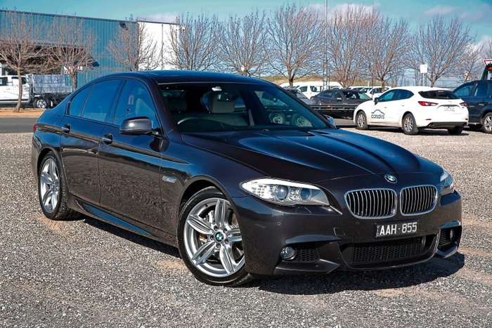 2013 BMW 5 Series 535d F10 MY13 Grey