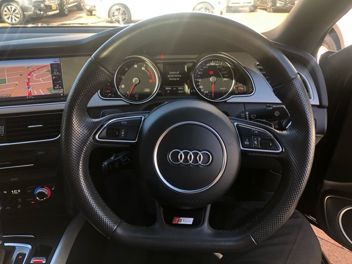 2014 Audi A5 8T MY14 Four Wheel Drive Grey