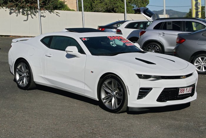 2018 Chevrolet Camaro 2SS MY18 White