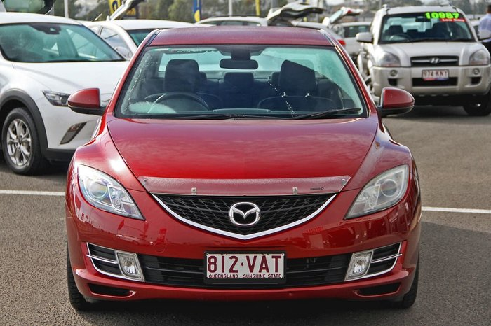 2009 Mazda 6 Classic GH Series 1 MY09 Red