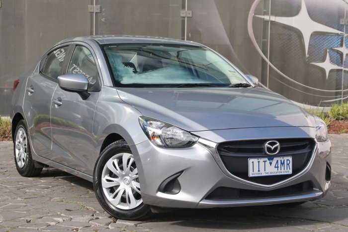2016 Mazda 2 Neo DL Series Silver