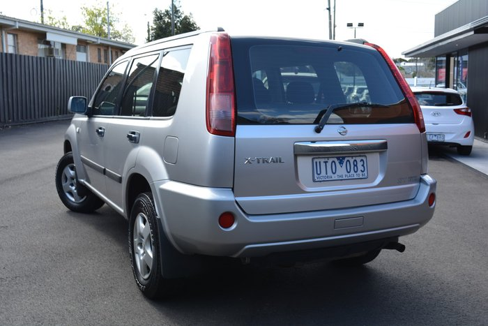 2007 Nissan X-TRAIL ST T30 II MY06 4X4 On Demand Silver