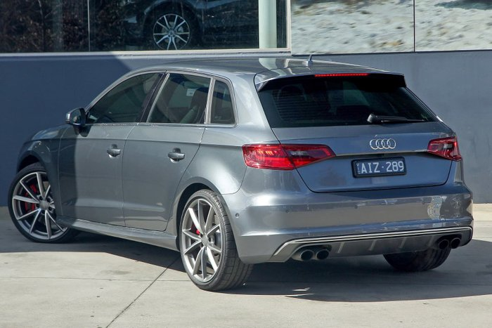 2016 Audi S3 8V MY16 Four Wheel Drive Grey