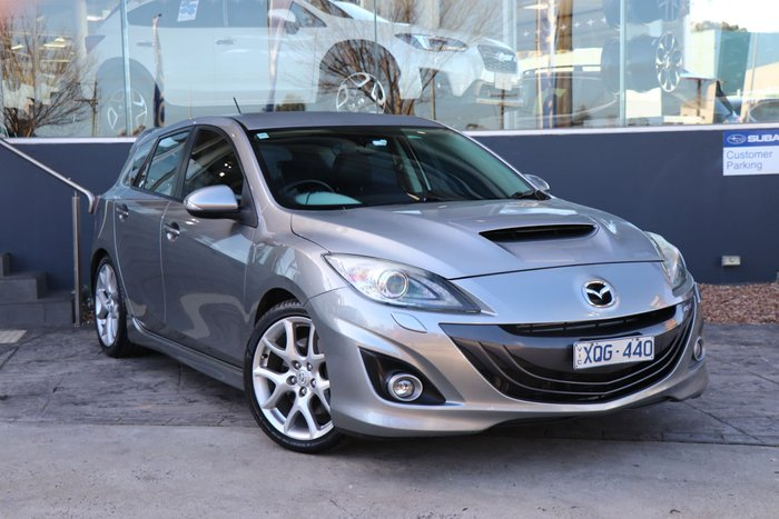 2010 Mazda 3 MPS Luxury BL Series 1 Grey
