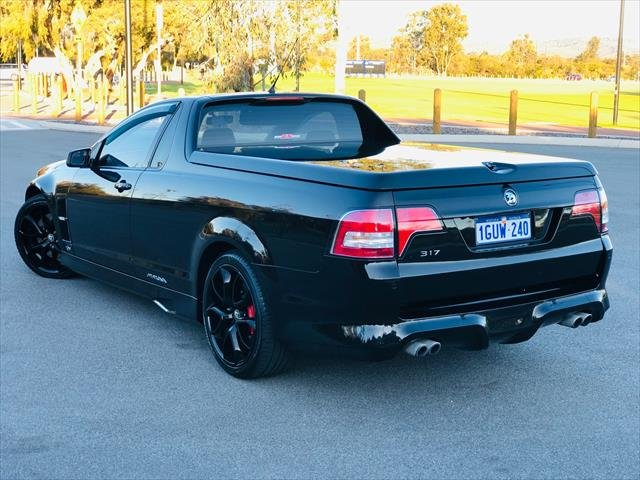 2012 Holden Special Vehicles Maloo R8 E Series 3 MY12.5 Black