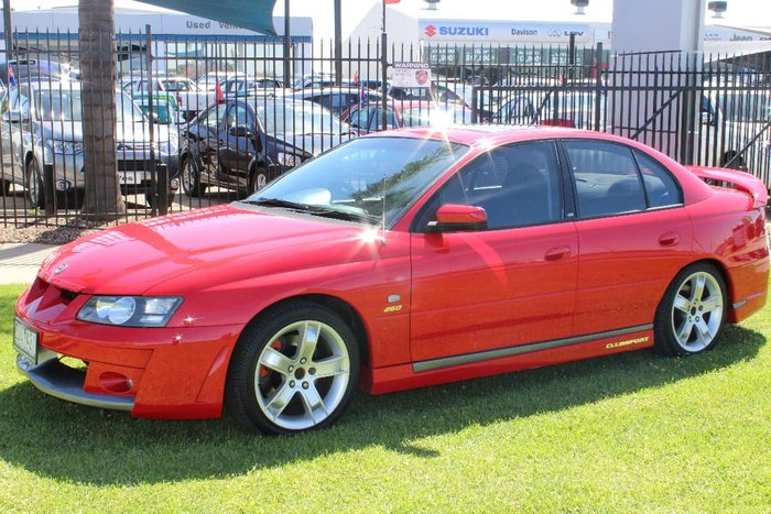 2003 Holden Special Vehicles Clubsport Y Red