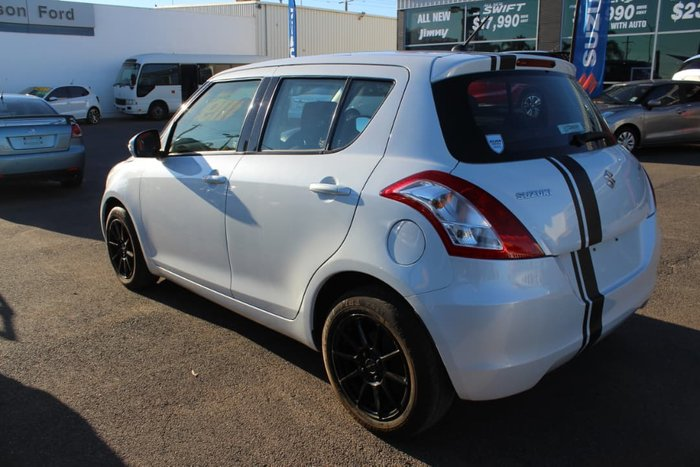 2014 Suzuki Swift GL FZ MY14 White