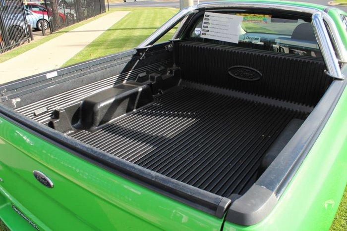 2009 Ford Falcon Ute XR6 FG Green