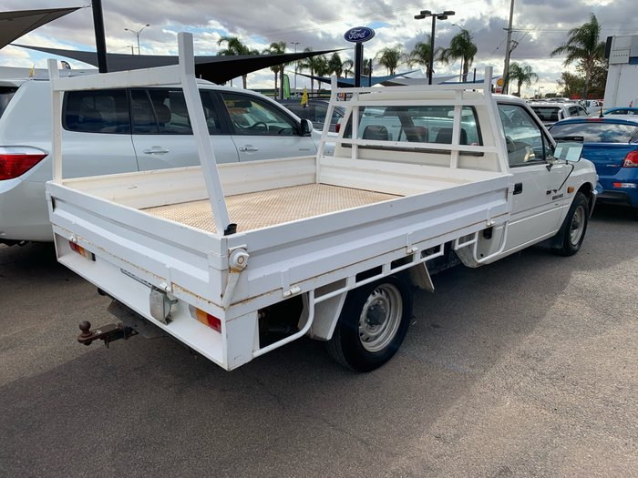 1992 Holden Rodeo DLX TF White
