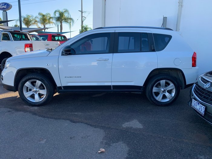 2013 Jeep Compass Sport MK MY13 White