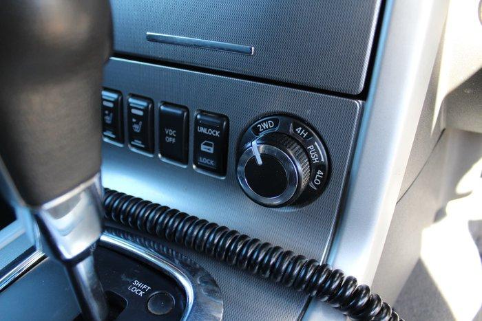 2013 Nissan Navara ST-X 550 D40 Series 5 4X4 Silver