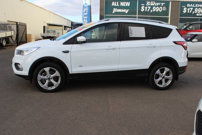 2018 Ford Escape Trend ZG MY18 4X4 On Demand White