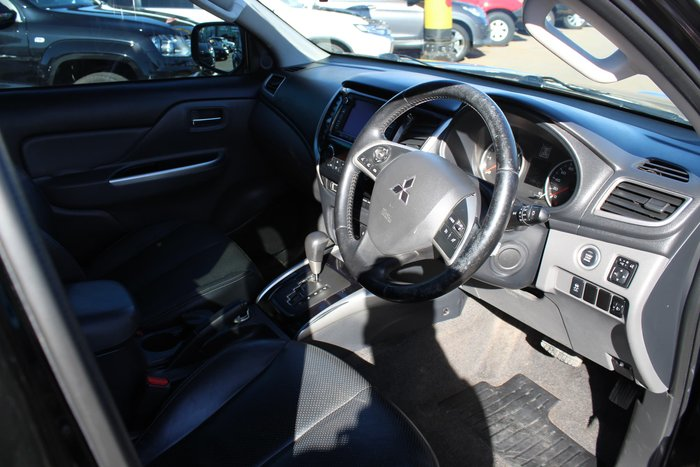 2015 Mitsubishi Triton Exceed MQ MY16 4X4 Dual Range Black