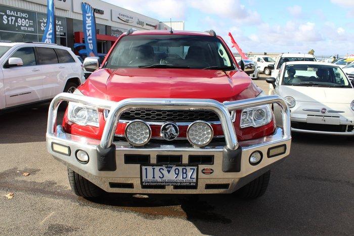 2013 Holden Colorado 7 LTZ RG MY13 4X4 Dual Range Red
