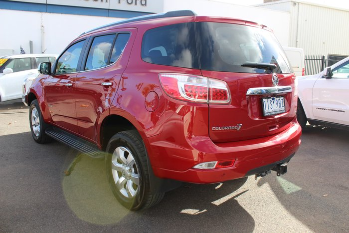 2013 Holden Colorado 7 LTZ RG MY13 4X4 Dual Range Red