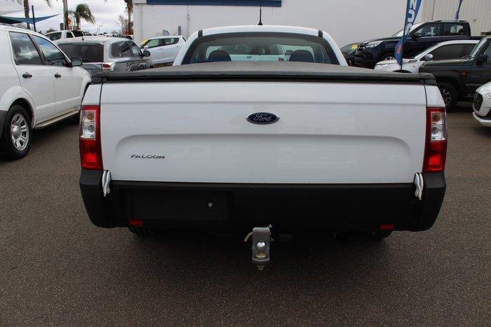 2014 Ford Falcon Ute FG X White